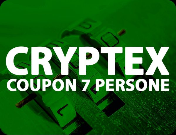 Cryptex Coupon Escape Room Onewayout