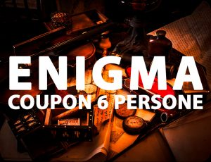 Enigma Coupon Escape Room Onewayout