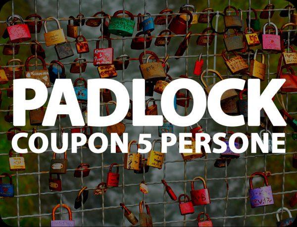 Padlock Coupon Escape Room Onewayout