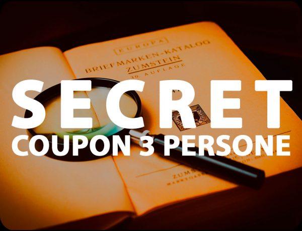 Secret Coupon Escape Room Onewayout