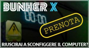 Prenota Bunker X Escape Room Torino Owo