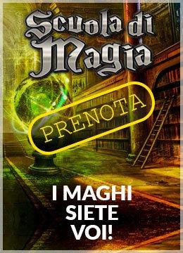 Prenota Scuola di Magia Escape Room OneWayOut